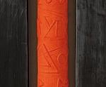 Preghiere - 2000 Cartapesta e  piombo cm. 88 x 31 x 9
