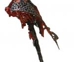 Sagittae - 1984 Cartapesta rossa cm. 320 x 97 x 110
