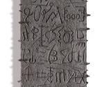 Omaggio alla Scrittura - 2000 Cartapesta e metallo cm. h 240 x 30 x 7