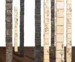 Torri di Memorie - 2008 Cera e bronzo cm. h 212 14 x 14