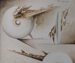 Studi per Monumento a Binda - 1988 Tecnica Mista cm. 50 x 70