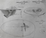 Studio per Tavolo - 1992 Matita cm. 21 x 29