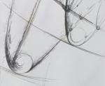 Tracce Spaziali - 1999 Matita cm. 43 x 17