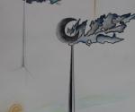 Il Sogno del Blaue Reiter - 1985 Acquerello cm. 29 x 21