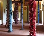 2012 Castello di Zavattarello Installazione Foresta