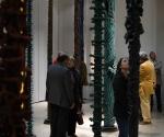 2012 Museo Civico Foggia Installazione Foresta