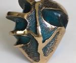 Cuore (fronte) - 2008 Bronzo cm. 10 x 8 x 4