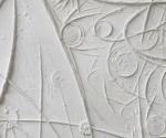 Mappe Spaziali (particolare) - 2011 Cartapesta cm. 50 x 70 x 1