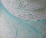 Tracce Spaziali - 1993 Cartapesta cm. 70 x 70 x 1