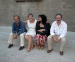 2006 Sassari da sin. Sisinnio Rita Giovanna e Pino