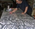 2005 Disegno preparatorio Pilastro del Cielo