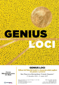 Locandina Mostra Genius Loci